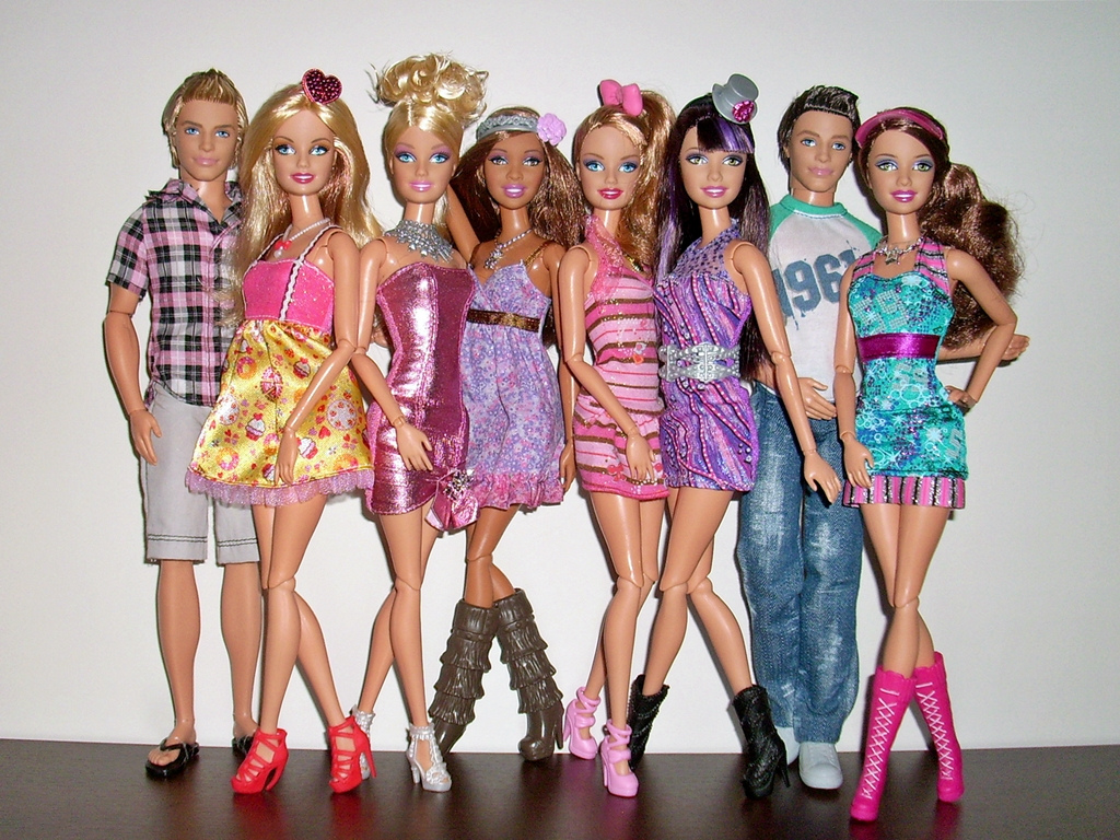 Barbie dolls squad goals