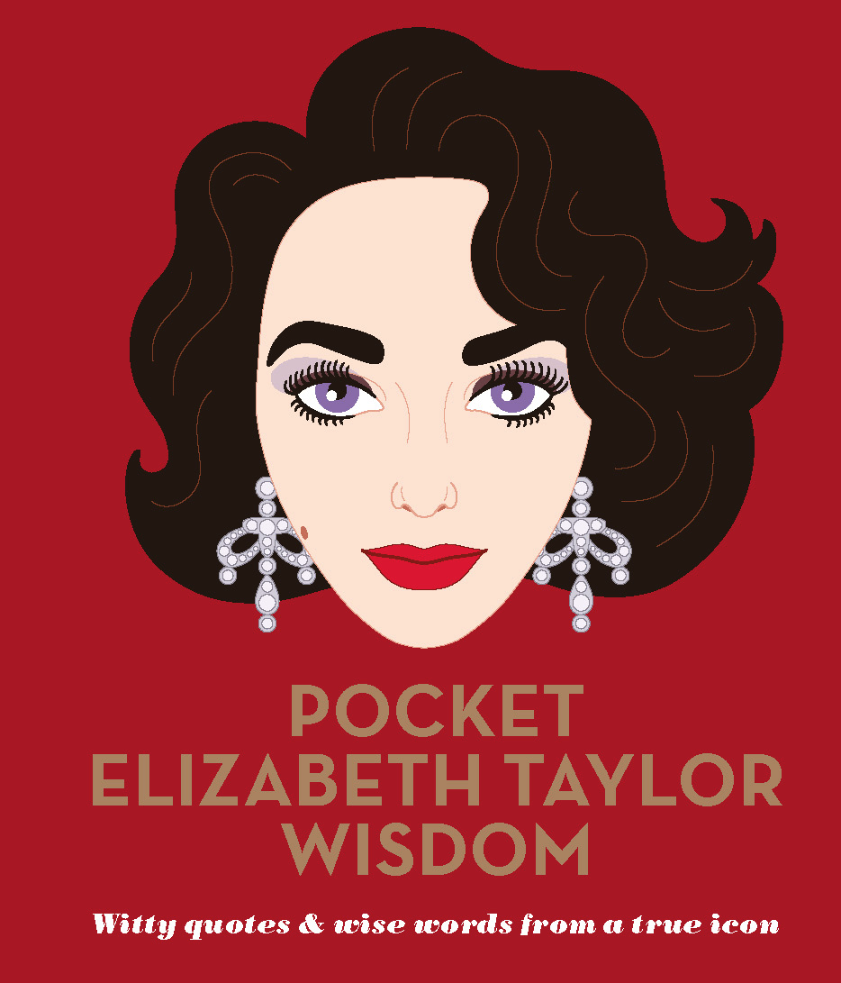 best Elizabeth Taylor quotes, Pocket Elizabeth Taylor Wisdom book cover