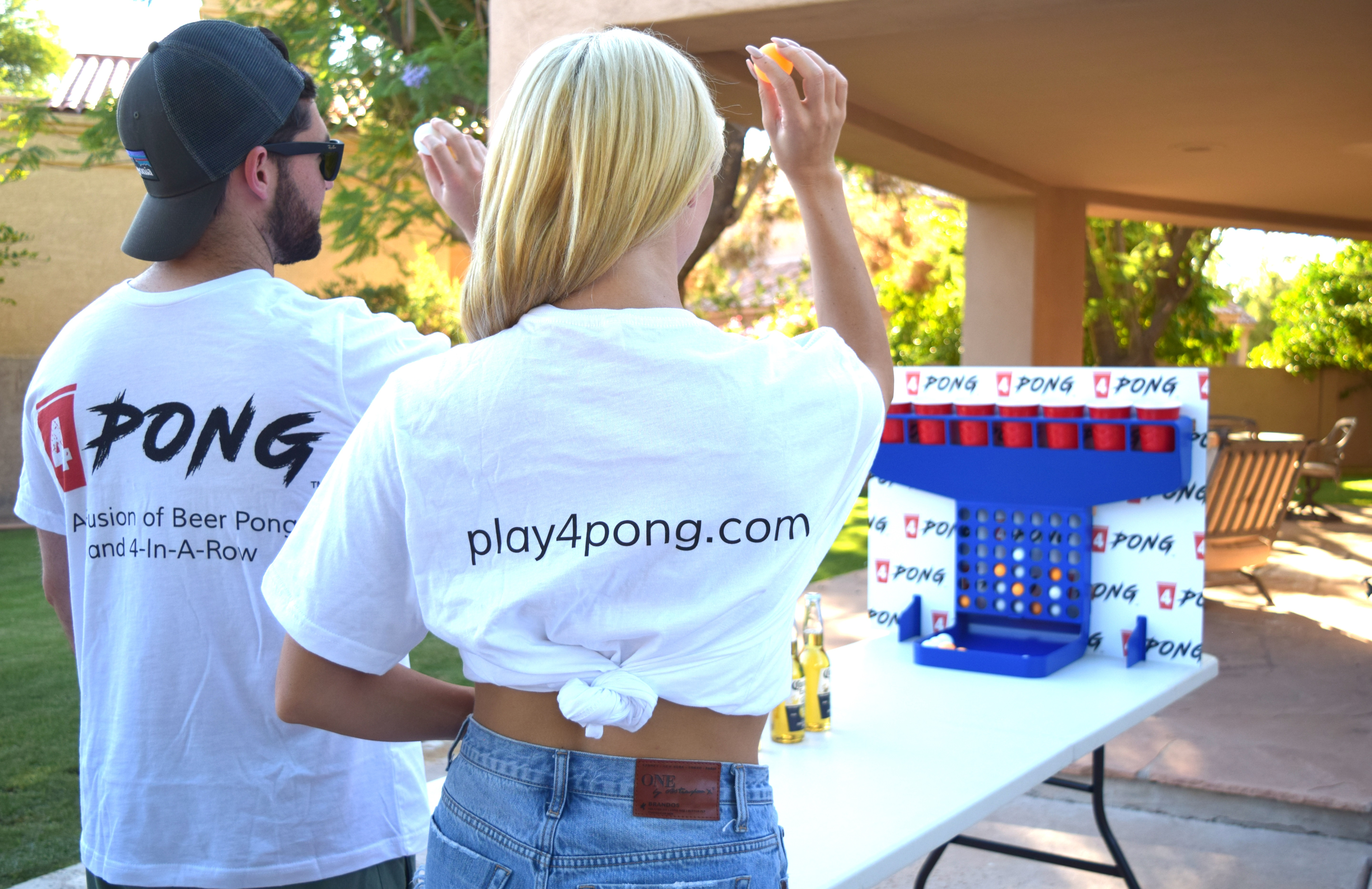 best new drinking game, 4Pong