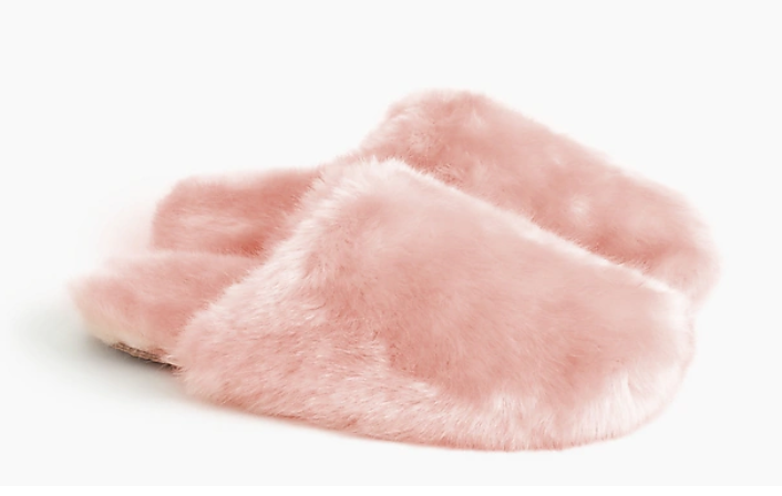best gifts for homebodies, fuzzy slippers