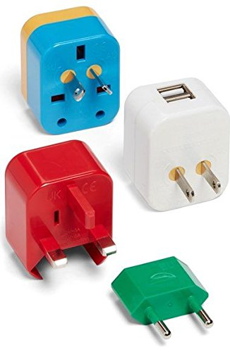 best gifts for travelers, 5-In-1 adapter
