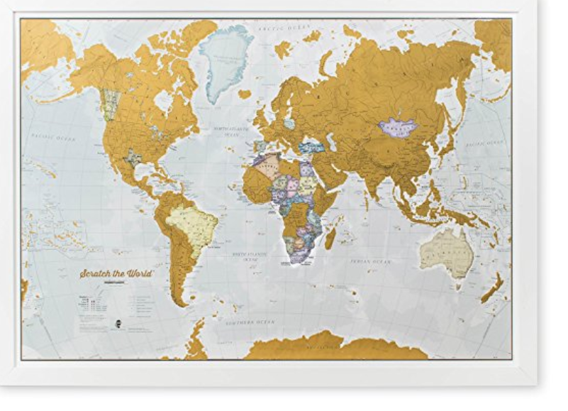 best gifts for travelers, map