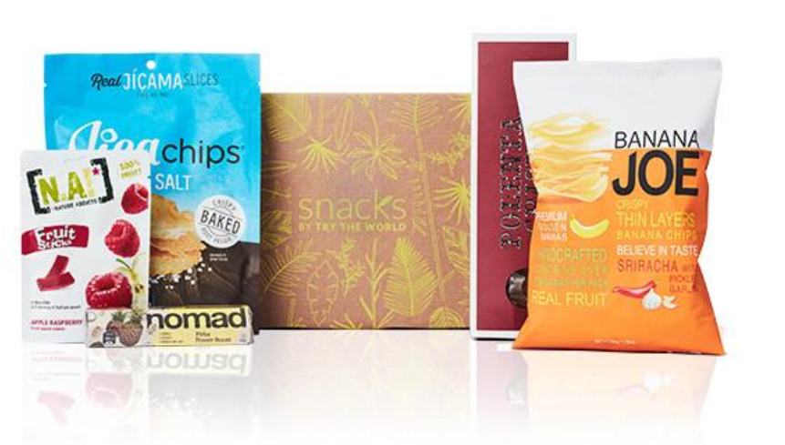 best gifts for travelers, snacks, Try the World