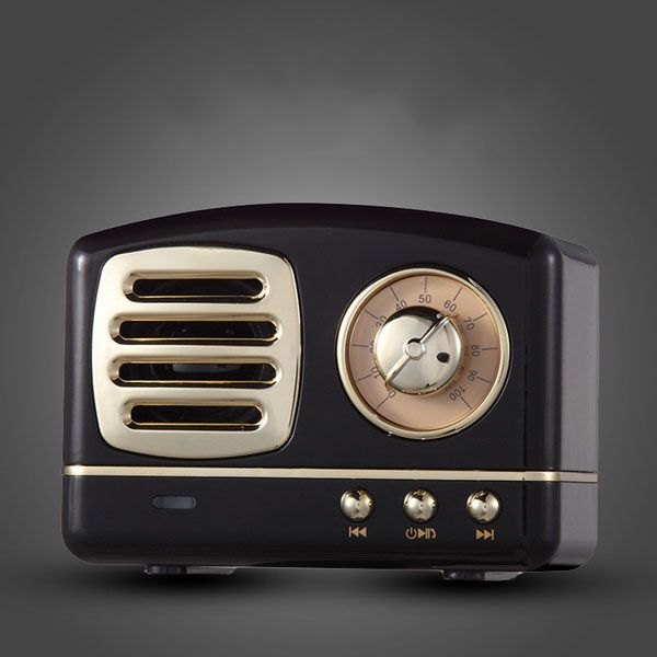 retro radio bluetooth speaker, best last-minute Valentine's Day gifts