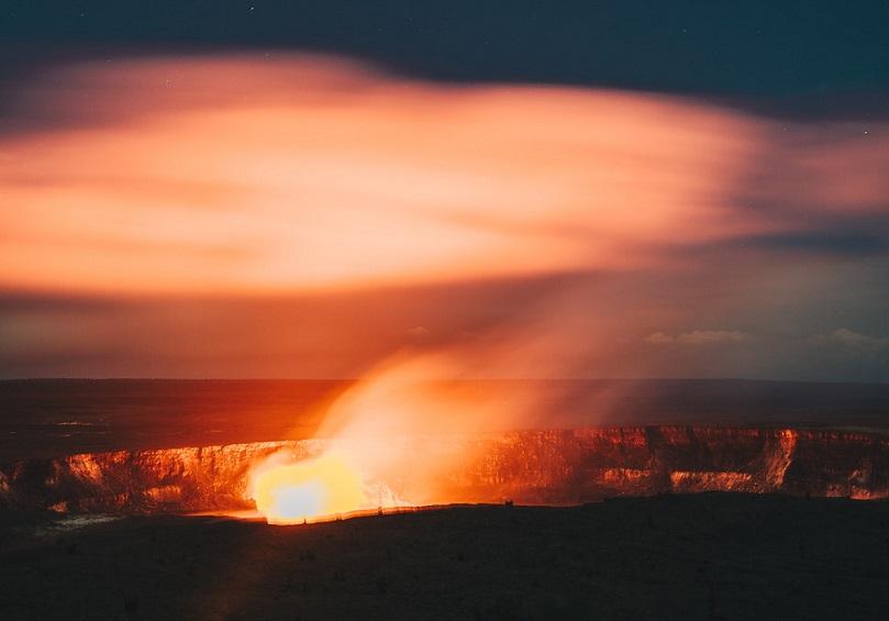 Hawaii volcanoes park