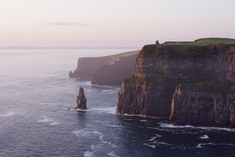 cliffs in Ireland