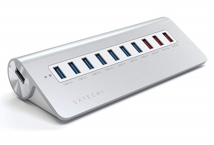 10-port USB hub for charging, last-minute gifts
