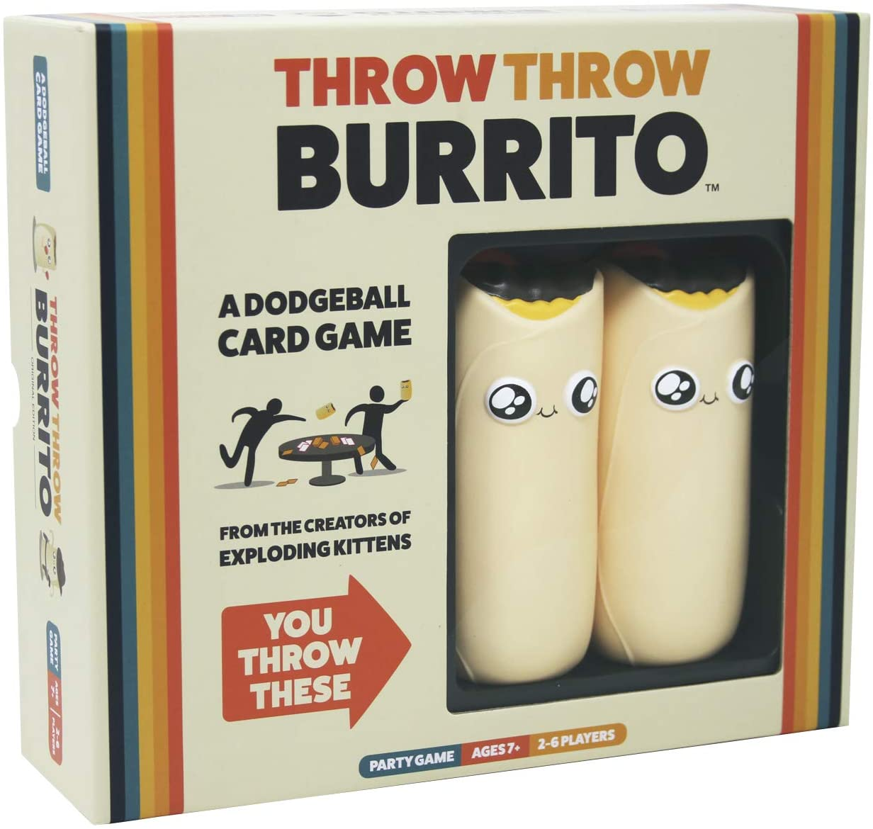 Throw Throw Burrito Game