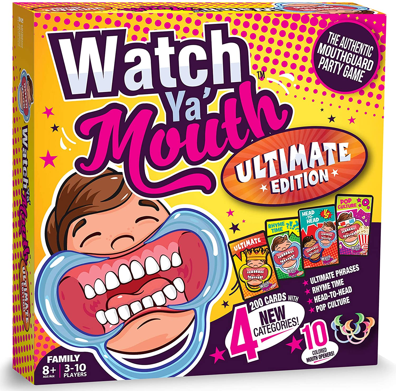 Watch Ya Mouth Game to help survive isolation